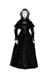 Roxane im Kloster